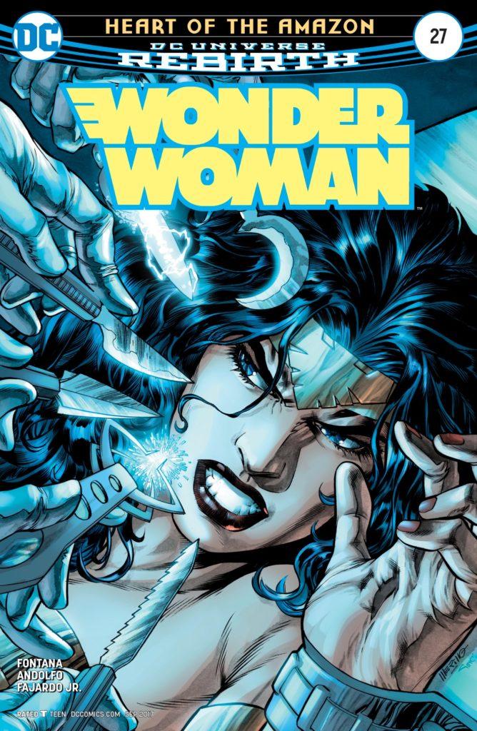 Wonder Woman #27 cover