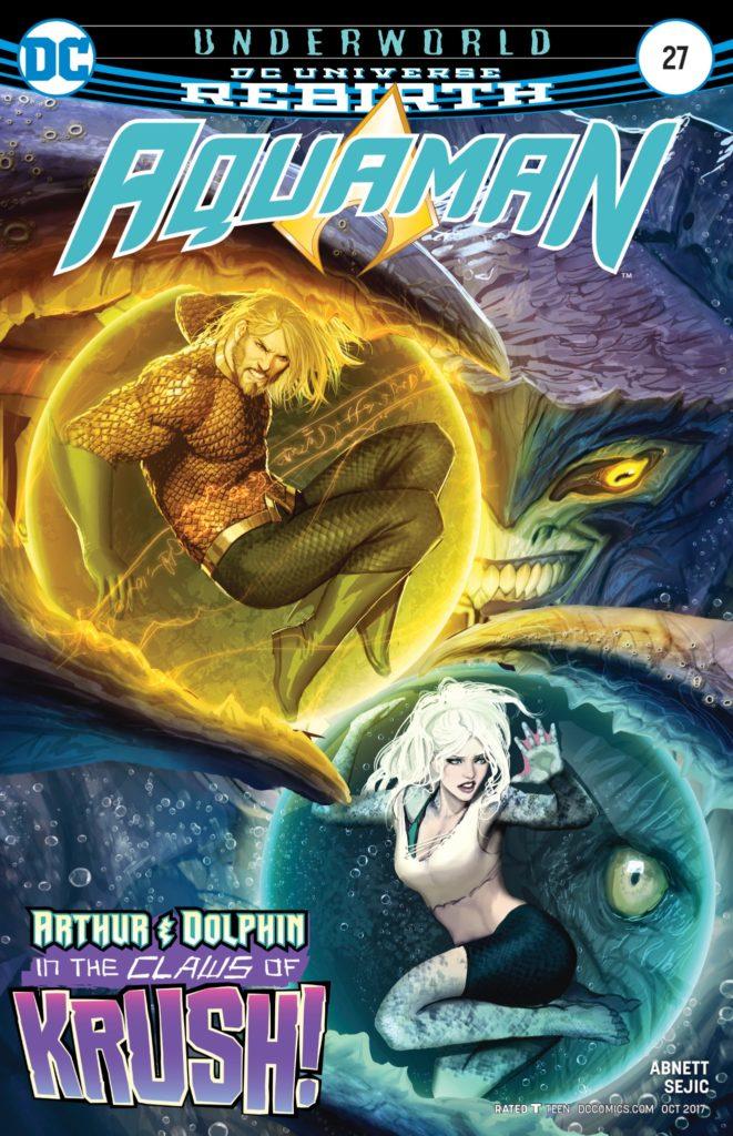 Aquaman #27 cover