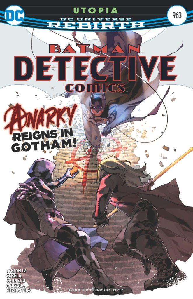 Detective Comics #963 cover