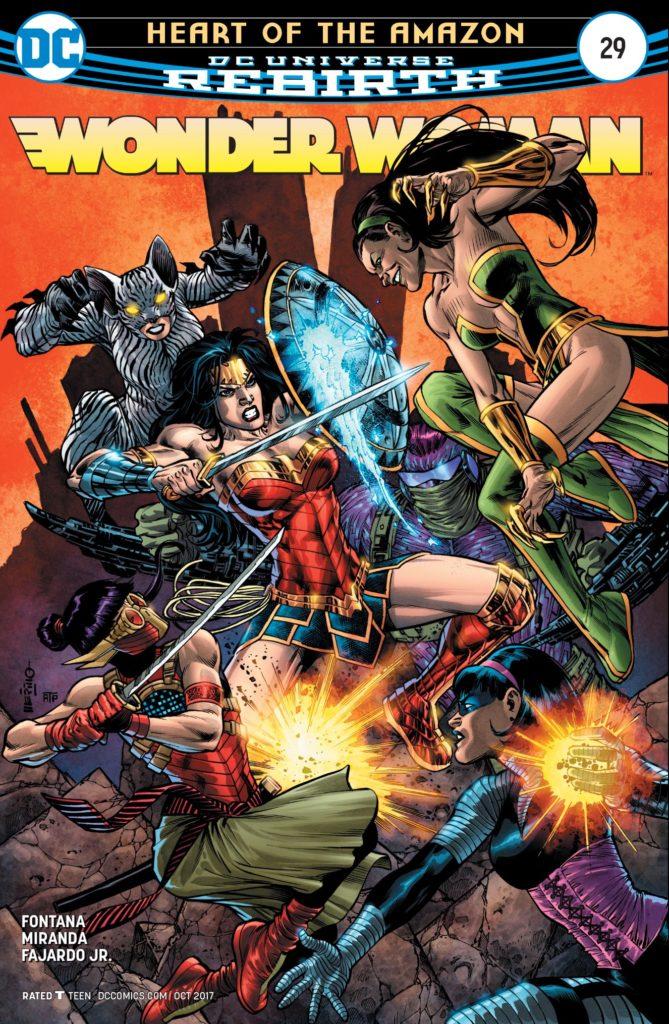 Wonder Woman #29 Cover