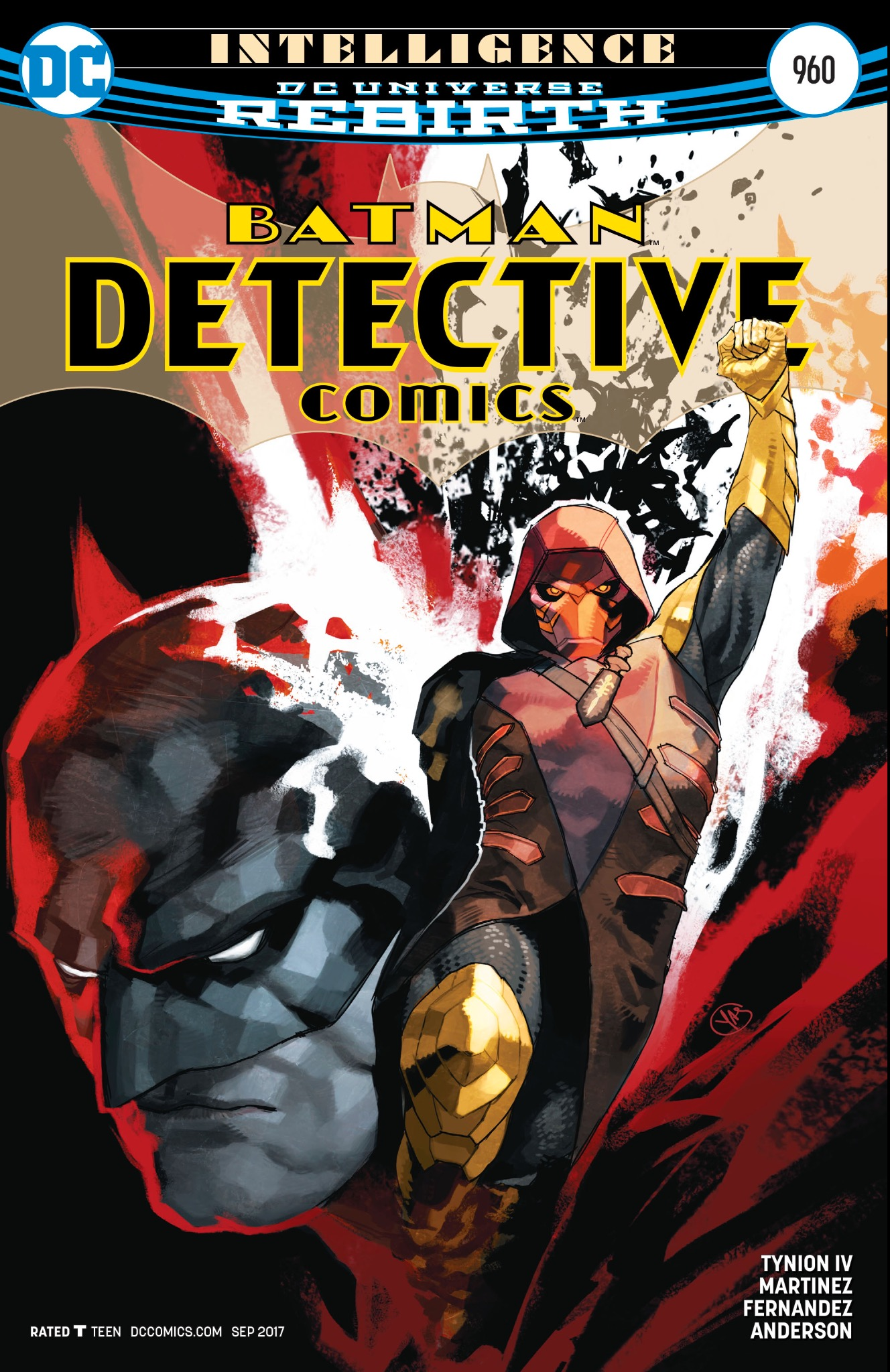 Detective Comics #960 cover