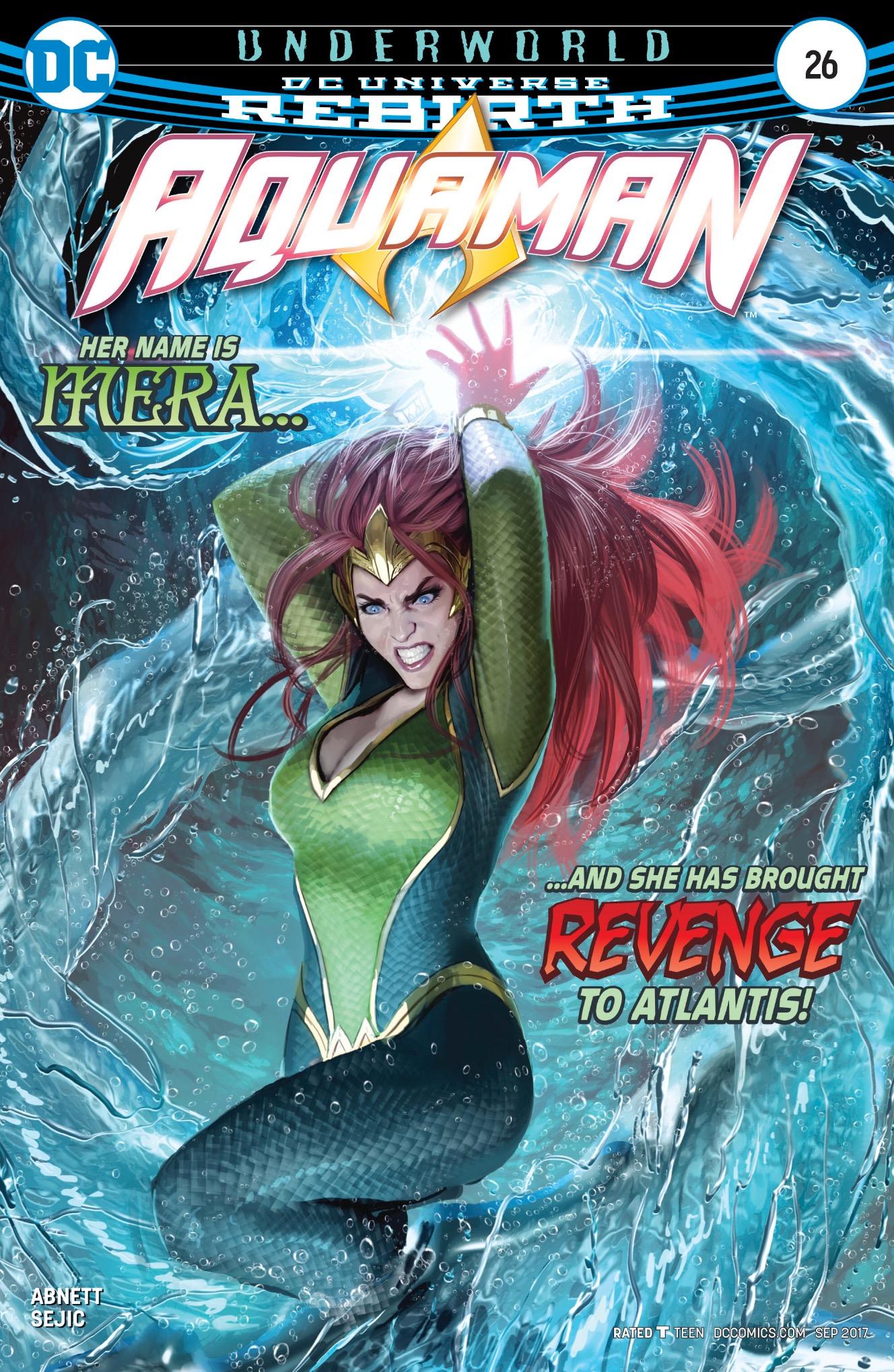 Aquaman #26 cover