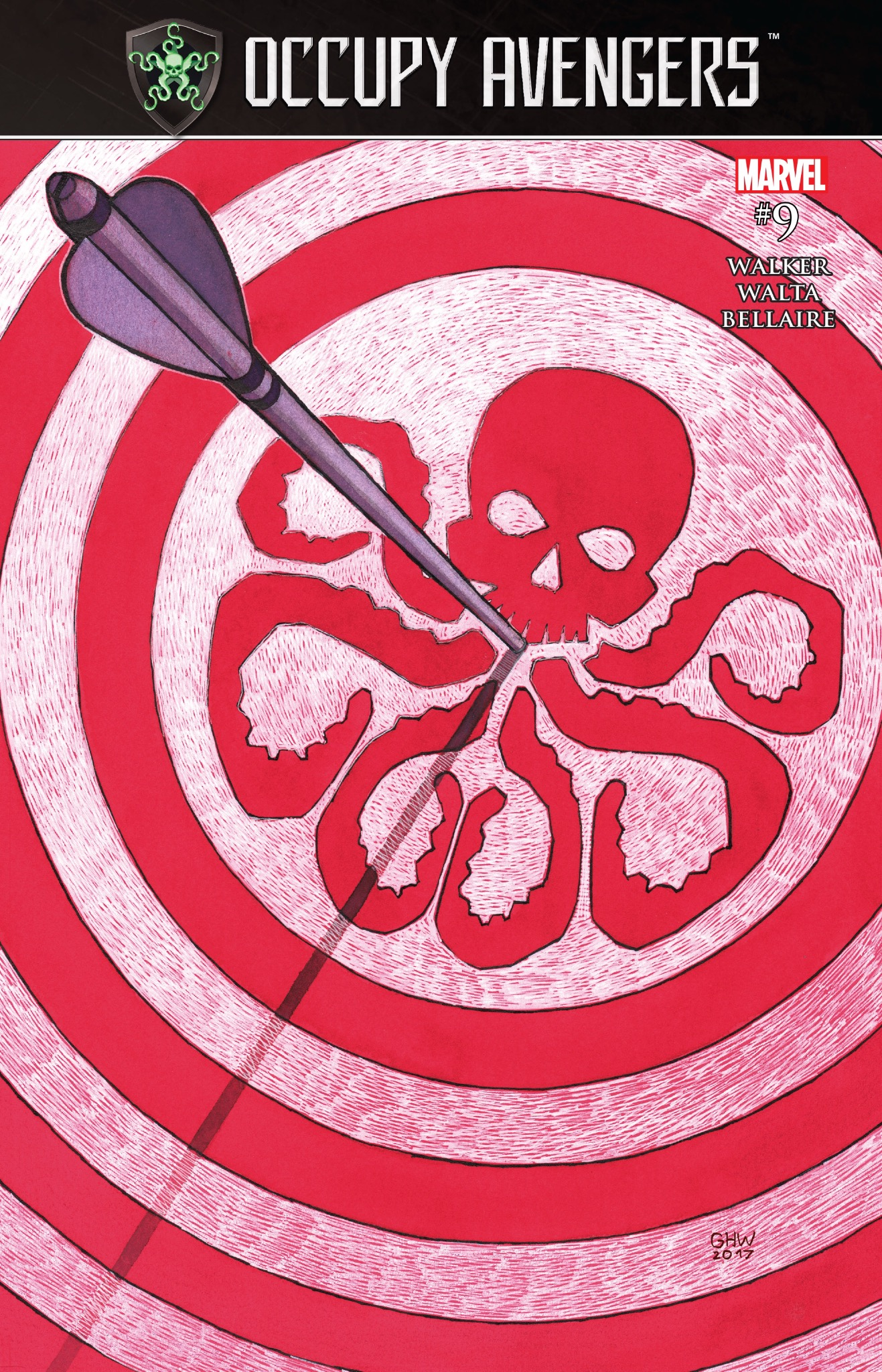 Occupy Avengers #9 cover