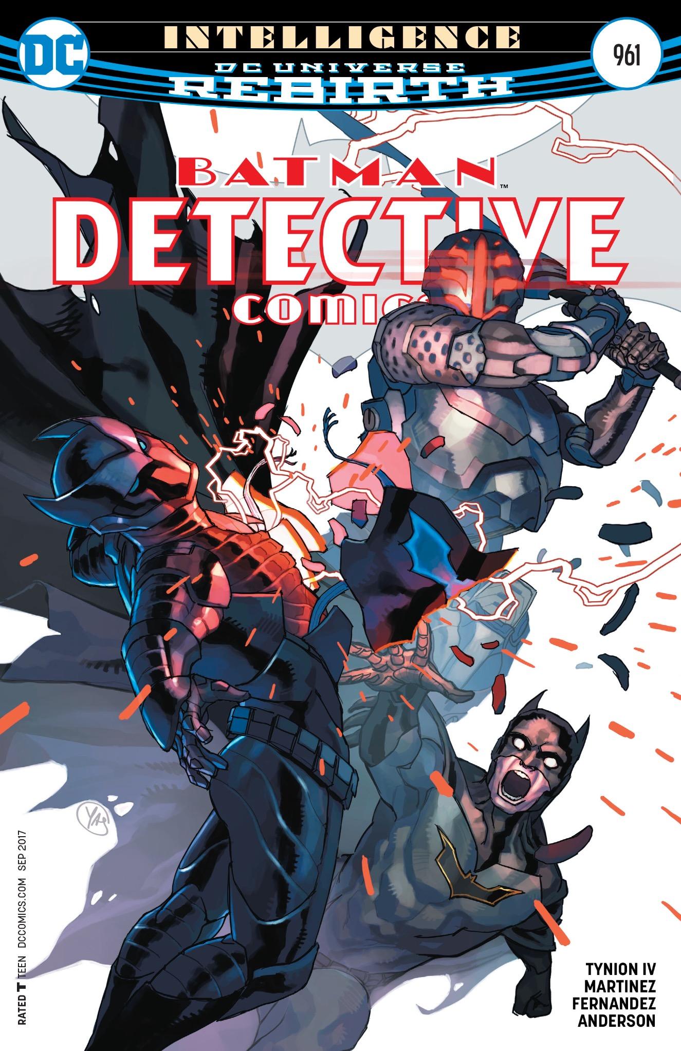 Detective Comics #961 cover
