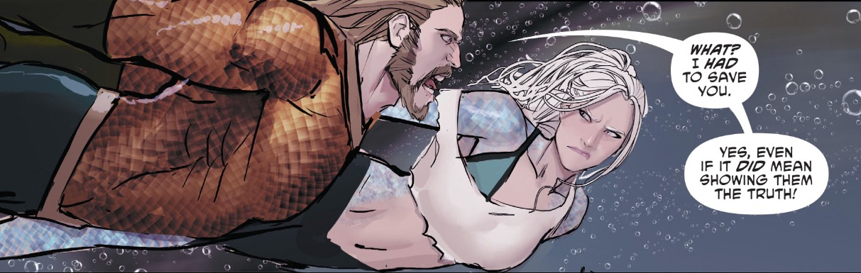 Aquaman and Dolphin from Aquaman #27