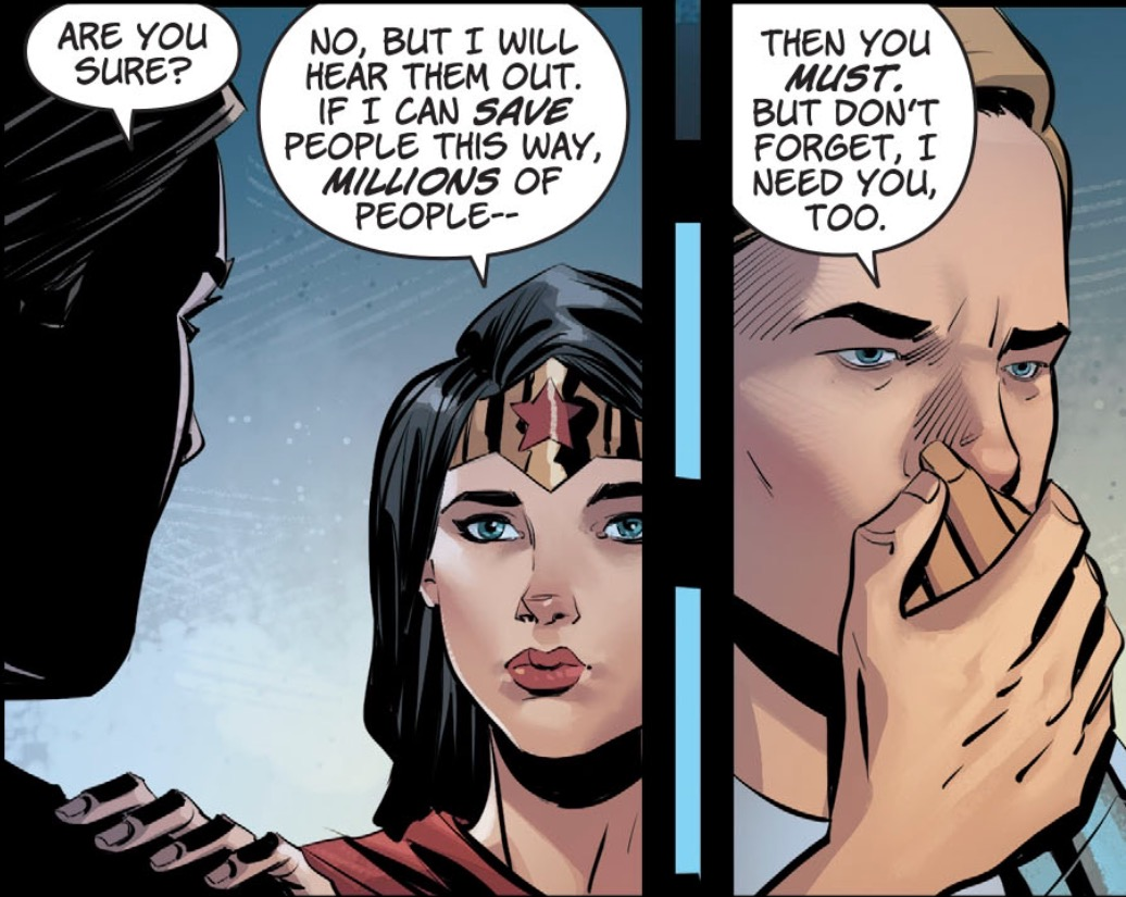 Panel from Wonder Woman #29