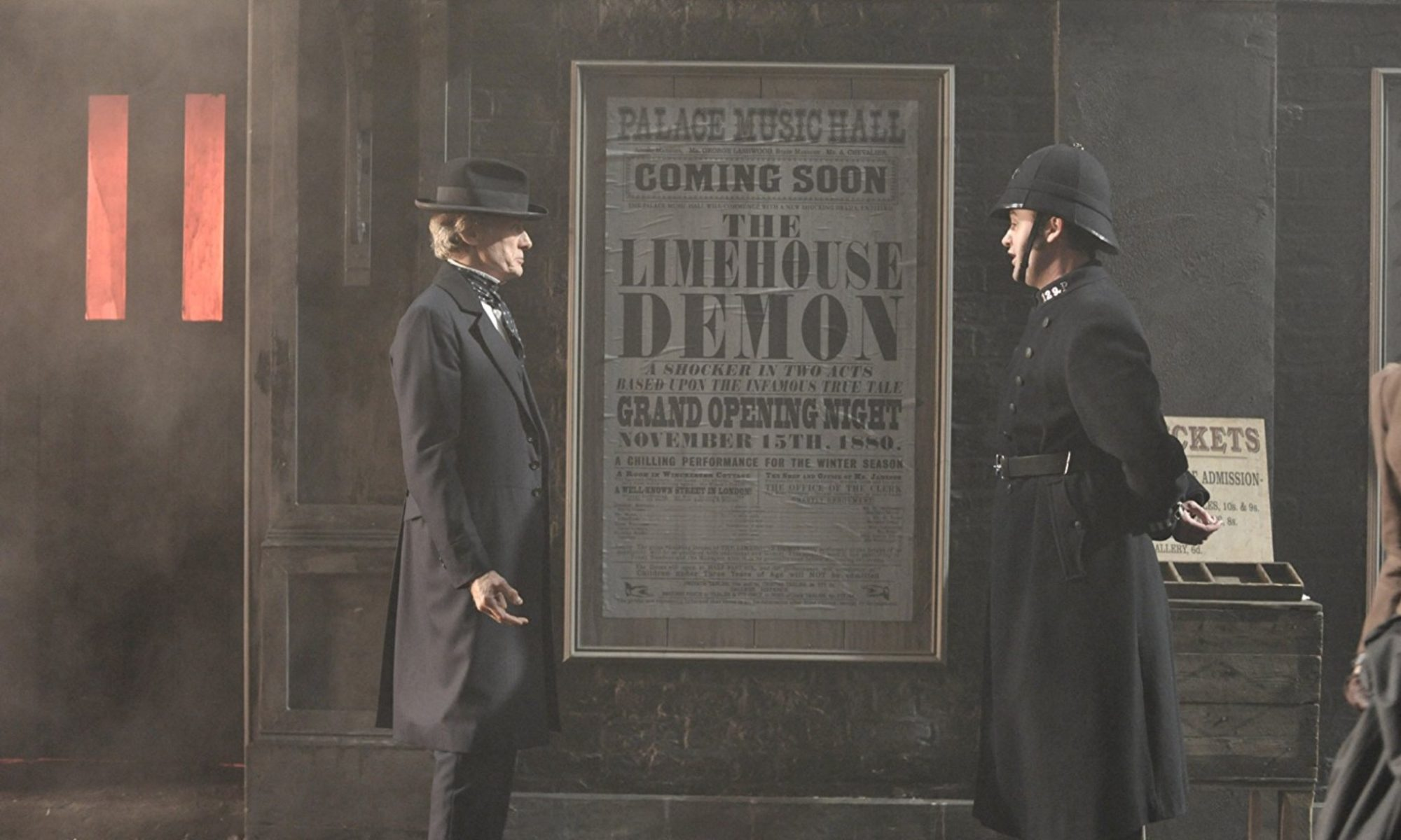 Bill Nighy and Daniel Mays in The Limehouse Golem