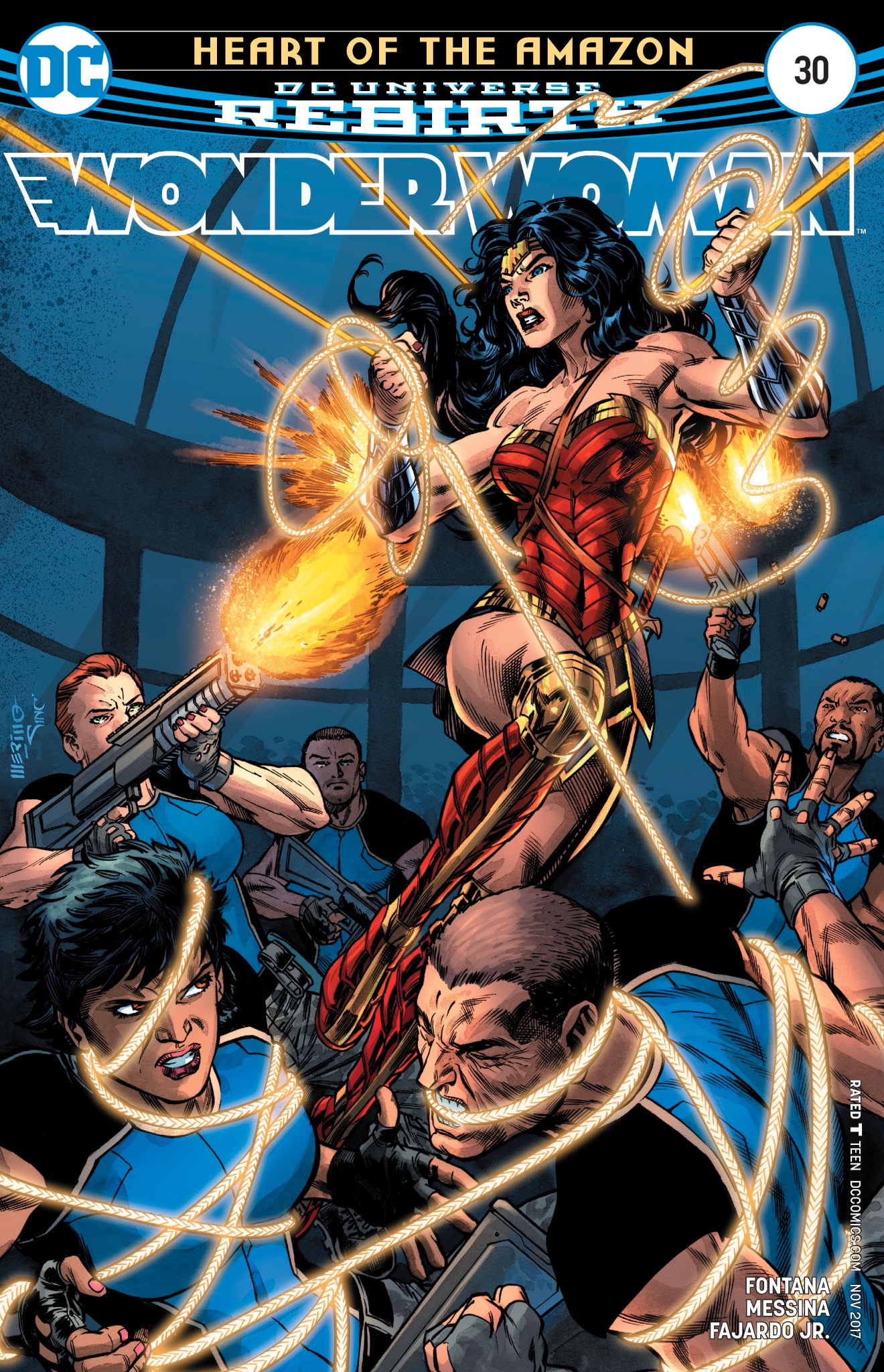 Wonder Woman #30 Cover