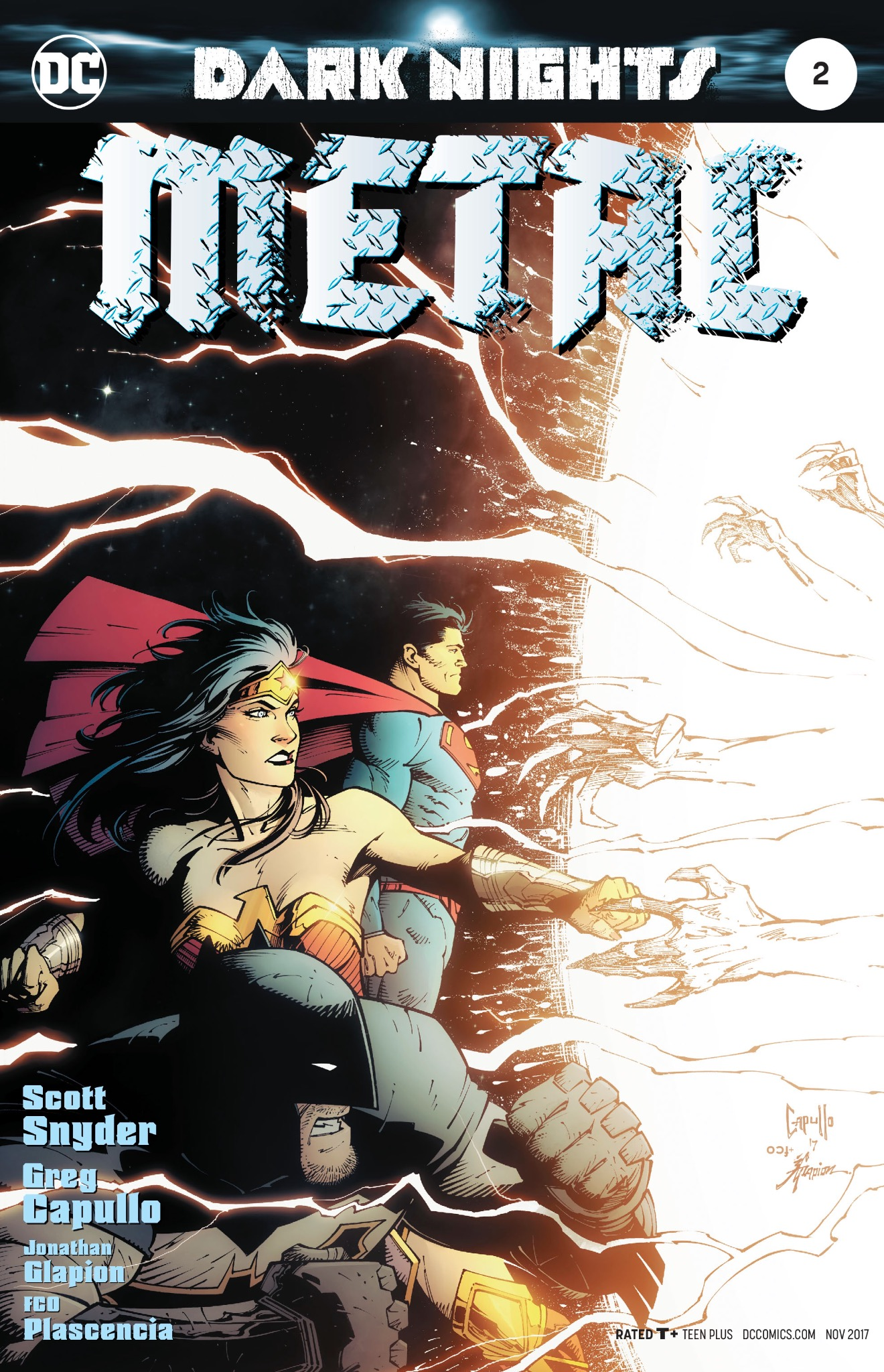 Dark Nights: Metal #2 Cover