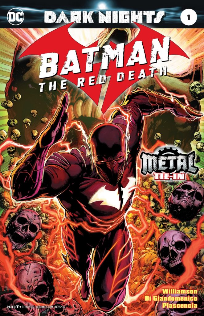 Dark Nights: Batman the Red Death cover