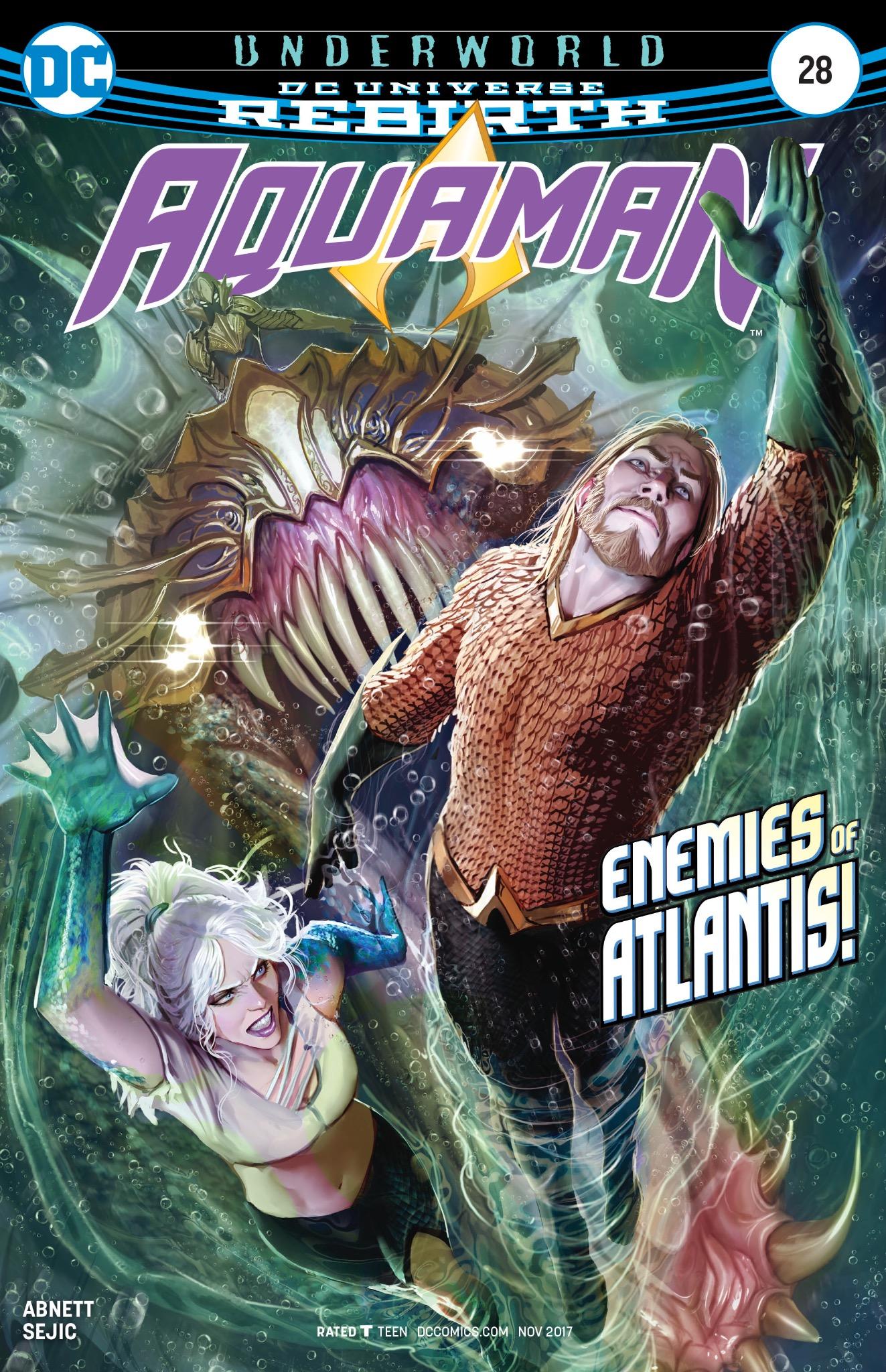 Aquaman #28 Cover