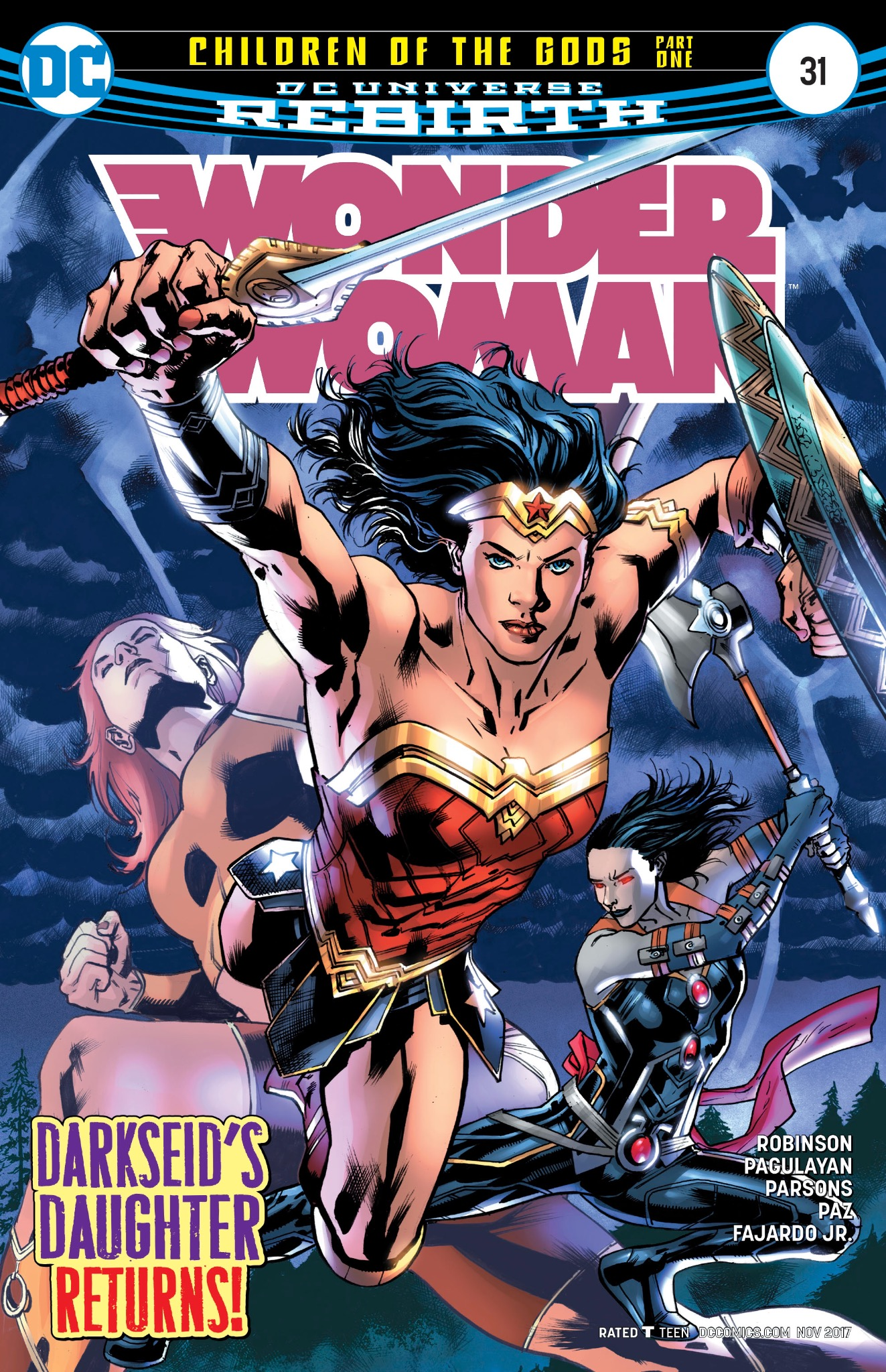 Wonder Woman #31 Cover