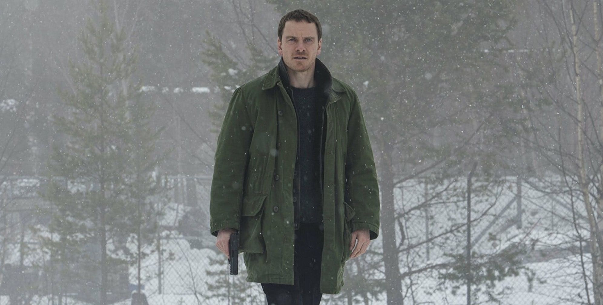 Michael Fasbender in The Snowman