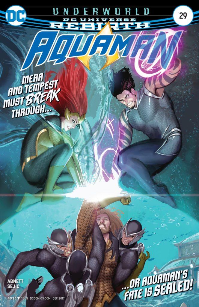 Aquaman #29 Cover