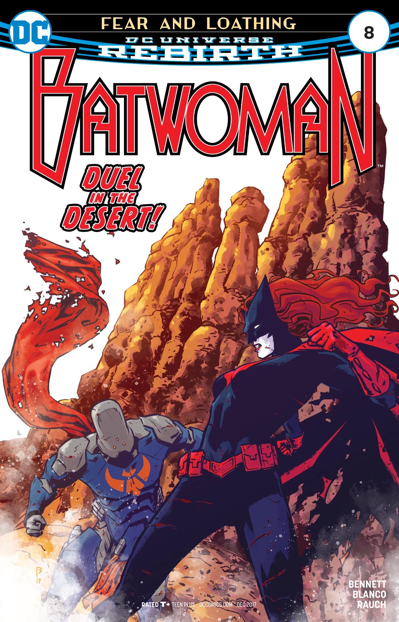 Batwoman #8 Cover