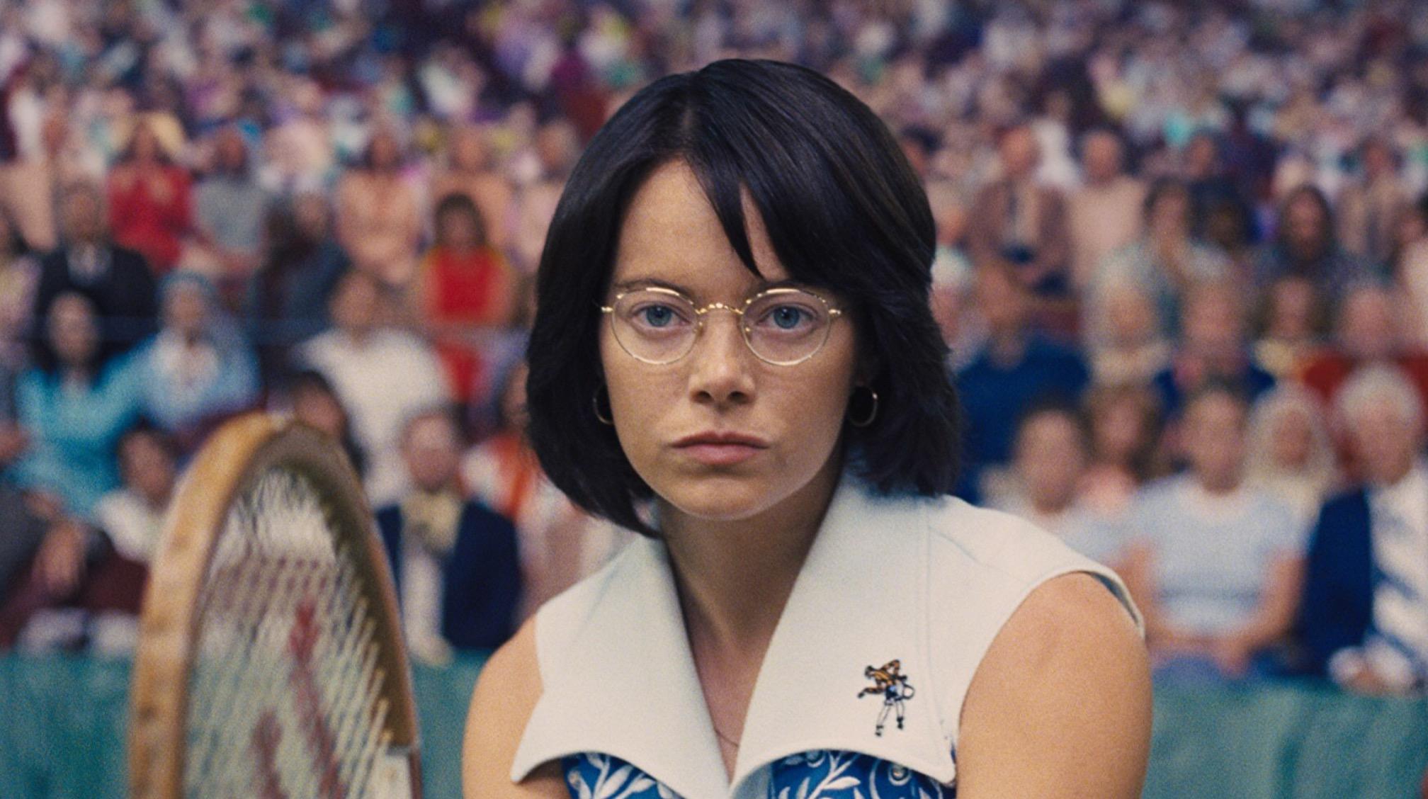 Emma Stone as Billie Jean King in Battle of the Sexes