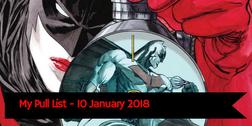 Pull list 10 January 2018