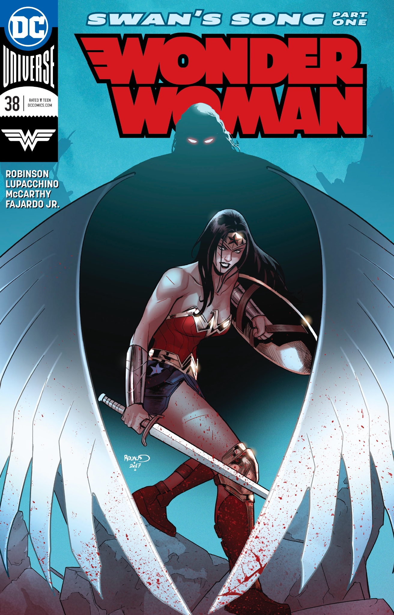 Wonder Woman #38: Swan's Song part 1